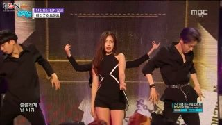 Crazy, Gone Crazy (180428 MBC Music Core) - BerryGood Heart Heart