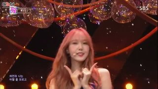 Love Bug; Time For The Moon Night (180506 SBS Inkigayo Live) - GFriend