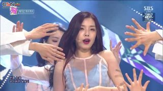 Crazy, Gone Crazy (SBS Inkigayo Live) - BerryGood Heart Heart