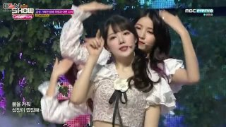 Love Bug; Time For The Moon Night (180509 MBC Show Champion Live) - GFriend