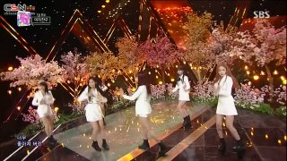 Bam (밤) (Time For The Moon Night) (Inkigayo 2018.05.20) - GFRIEND