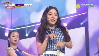 Alright (180711 Show Champion Live) - Apink
