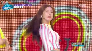 U Go Girl (Special Stage) (11.08.2018 Music Core) - (G)I-DLE