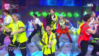 Naughty Boy (16.09.2018 SBS Inkigayo) - Pentagon