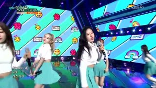 Hi High (Music Bank 05.10.2018) - Loona