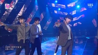 Goodbye Road; No.1 Stage (SBS Inkigayo 14.10.2018 Live) - iKON