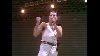 We Will Rock You (Live Aid 1985); We Are The Champions (Live Aid 1985) - Queen