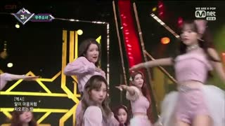 La La Love (17.01.2019 M Countdown Live) - Cosmic Girls
