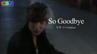 So Goodbye - Jonghuyn (SHINee)