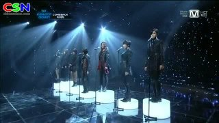 Cry Cry (111117 Live On Mnet Mcountdown) - T-Ara
