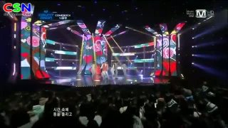 You're Beautiful (Comebackstage On M Countdown)  - Na Yoon Kwon; AJ; U-Kiss