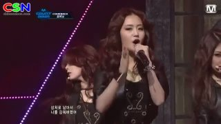Volume Up (Comeback Stage On M Countdown) - 4Minute