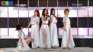 Volume Up (080612 Music Bank) - 4Minute