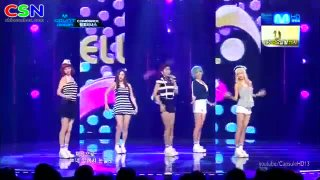 Like A Wave (Comeback Stage 050712 M Countdown) - Hello Venus