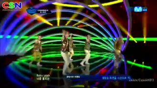 Hot Game (Comeback Stage 120712 M Countdown) - A-JAX