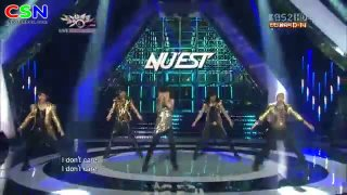 Action (Comeback Stage 130712 Music Bank) - NU'EST