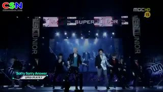 Sorry, Sorry (Mbc Sm Town In Tokyo) - Super Junior