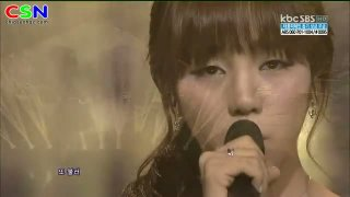 Sad Song; 300912 Sbs Inkigayo - Baek A Yeon