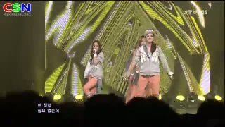 I' ll Be There; 071012 Sbs Inkigayo - SPICA