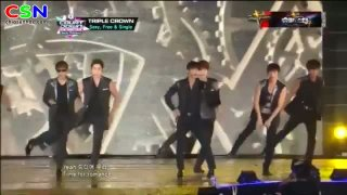 Sexy; Free; Single; M Countdown Smile Thailand - Super Junior