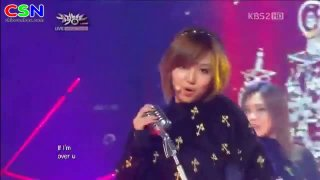 If I Were A Boy; 191012 Music Bank Comeback... - Miss A
