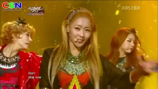 We Don't Stop(091112 Music Bank Comeback Stage) - FIESTAR