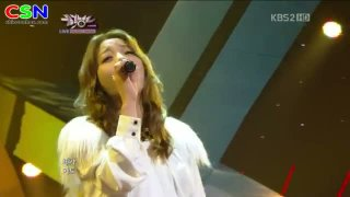 Evening Sky (071212 Music Bank) - Ailee