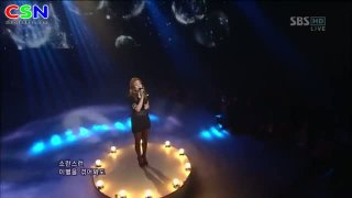 Evening Sky (091212 SBS Inkigayo) - Ailee