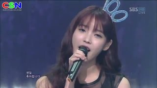 Winter Child (091212 SBS Inkigayo) - IU; Jung Yong Hwa; Lee Ki Kwang