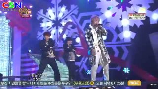 Tried To Walk (221212 MBC Music Core Christmas Special) - B1A4