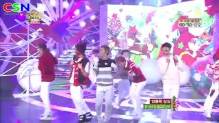 Winter's Tale (221212 MBC Music Core Christmas Special) - Bigstar; B1A4
