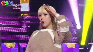 What Are You Doing Today (110113 Music Bank) - Hello Venus