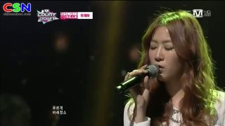 Because I Love You (070213 M Countdown Special Stage) - Soyou; Sistar