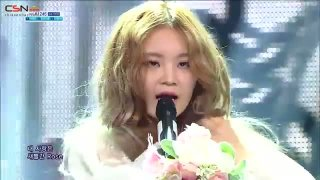 Rose (140413 Sbs Inkigayo) - Lee Hi; CL; 2NE1