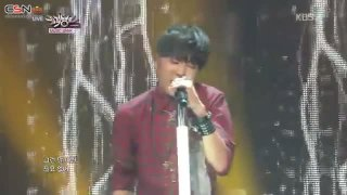 Wild And Young (09.08.13 Music Bank) - Kang Seung Yoon