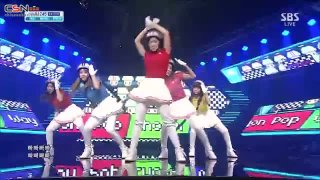 Bar Bar Bar (18.08.13 Sbs Inkigayo) - Crayon Pop