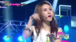 Is It Poppin? (Remix Ver.) (20.07.13 Music Core) - 4Minute