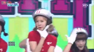 Bar Bar Bar (28.07.13 SBS Inkigayo) - Crayon Pop