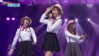 Can You Love Me (29.09.13 SBS Inkigayo) - 5Dolls; Dani; T-Ara N4