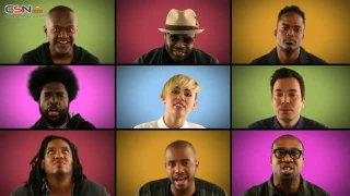 We Can't Stop - Miley Cyrus; Jimmy Fallon; The Roots Sing