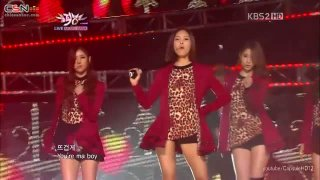Cry Cry (09.12.11 Music Bank) - T-Ara