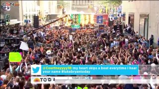 Crash My Party  (On Today Show) - Luke Bryan