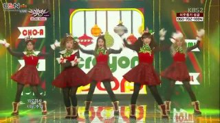 Lonely Christmas (06.12.13 Music Bank) - Crayon Pop