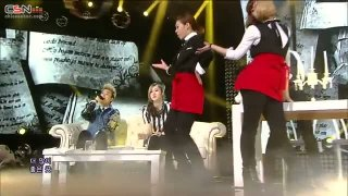 Break Up Dinner (15.12.13 SBS Inkigayo) - San E