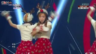 Lonely Christmas (13.12.13 KBS Music Bank) - Crayon Pop