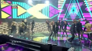 Gentleman (Music Bank Christmas Special) - Teen Top; AOA; M.I.B