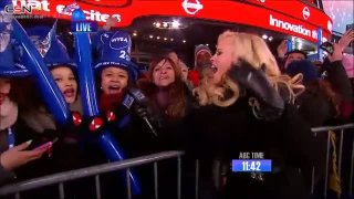 Get It Right & Wrecking Ball (Live In New Years Rockin Eve 2014) - Miley Cyrus