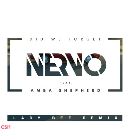 Did We Forget (Lady Bee Remix)