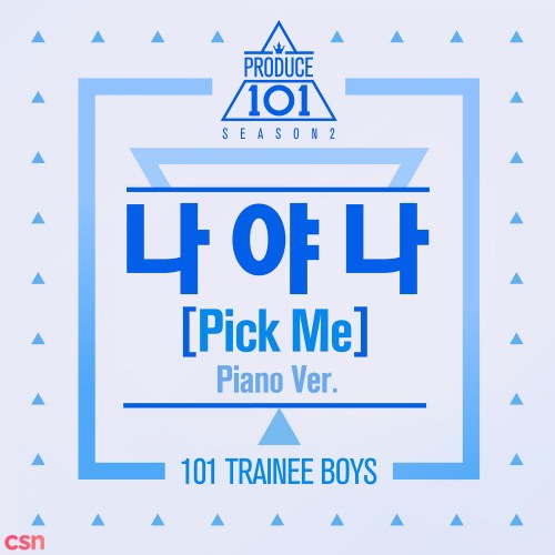 Pick Me (Piano Version)