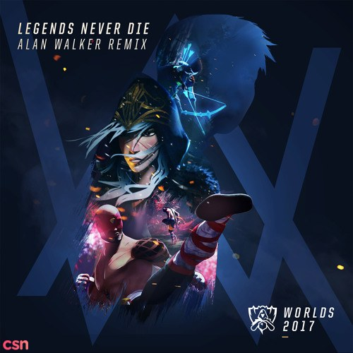 Legends Never Die (Alan Walker Remix)